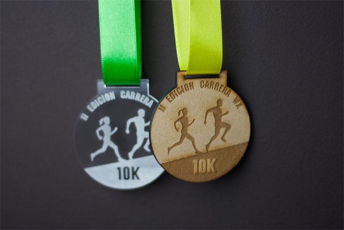 Medallas para premiación y competencias
